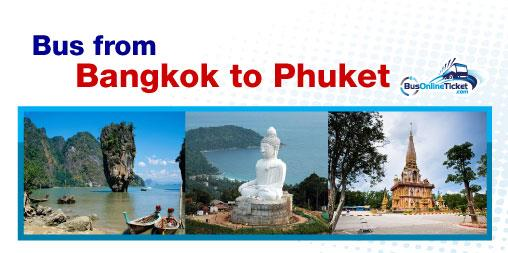 Bus from Bangkok to Phuket