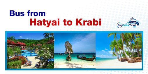 Bus from Hatyai to Krabi