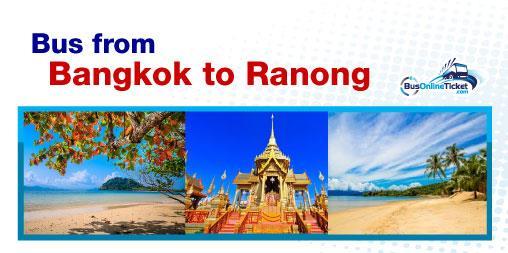 Bus from Bangkok to Ranong
