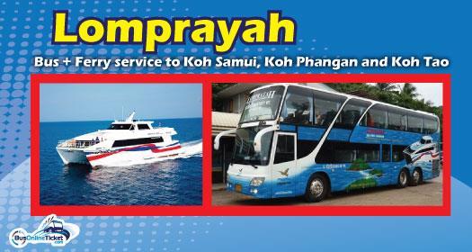 Lomprayah Service to Koh Samui, Koh Phangan and Koh Tao