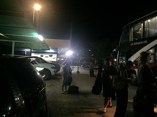 Arrival at Chumphon Lomprayah Pier