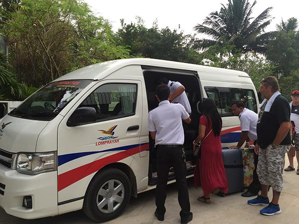 Boarding Van Transfer to Ao Nang