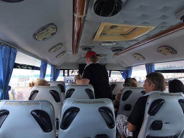 Lomprayah Bus Inner View