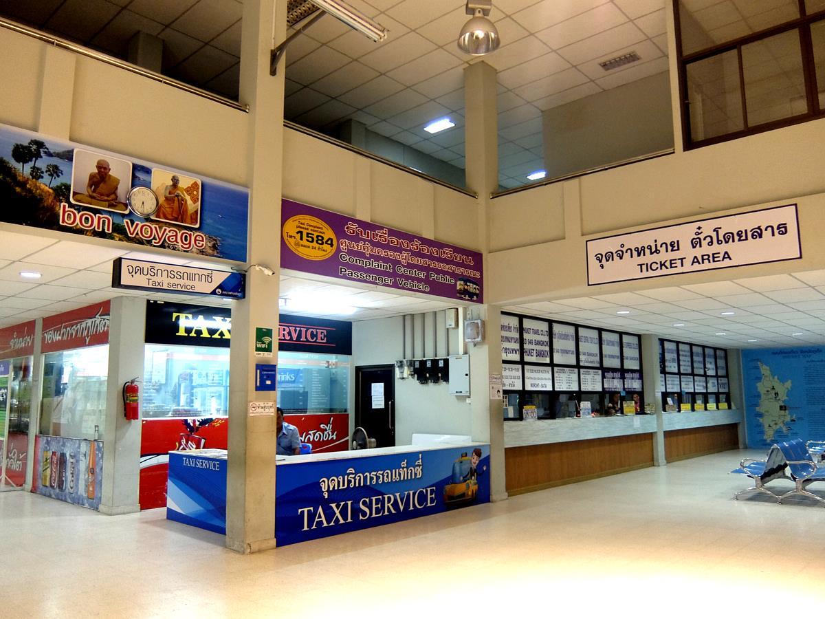 Phuket BusTerminal 2 Taxi  Counter