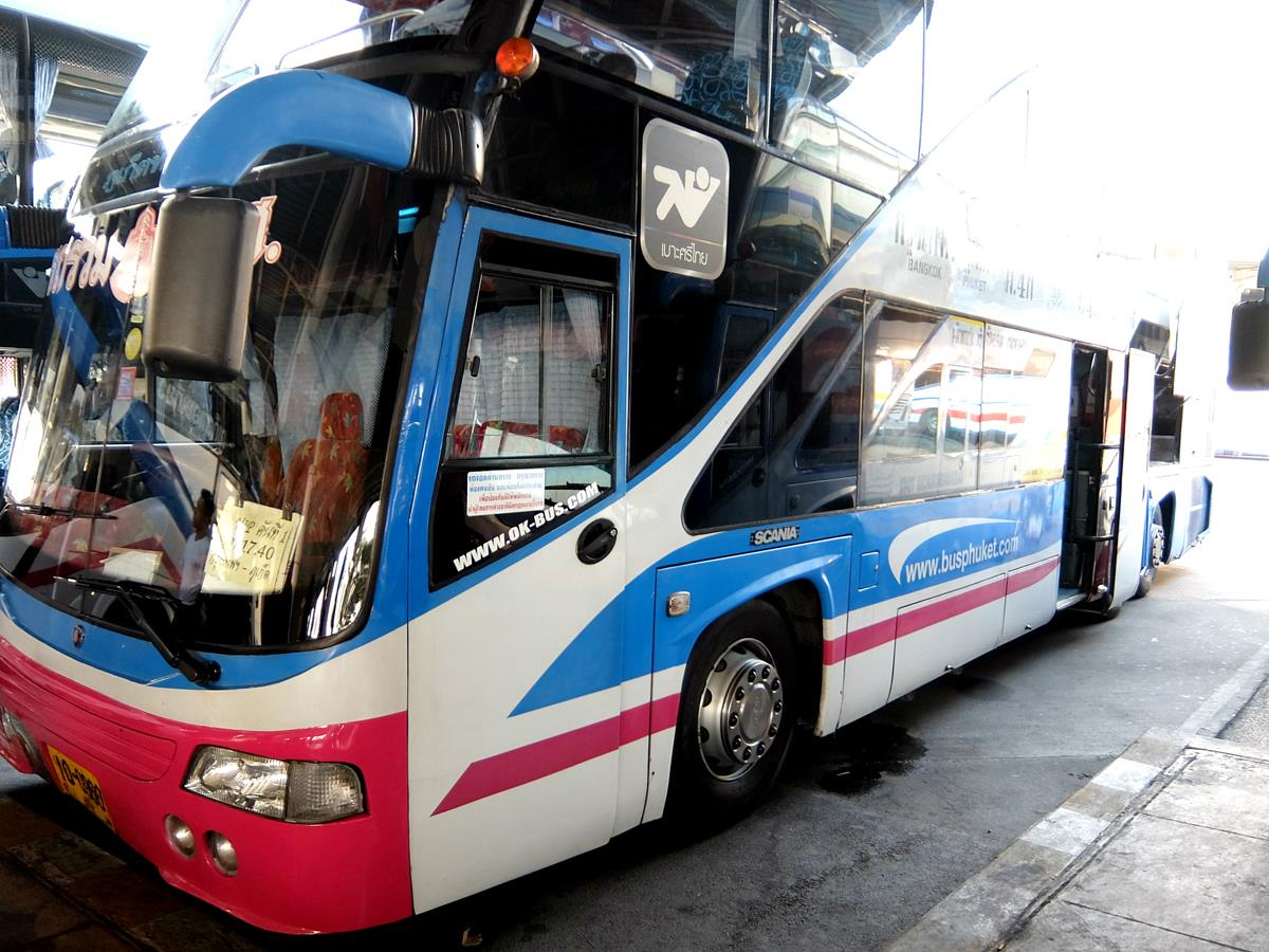 Phuket Travel Express Bus - Departure