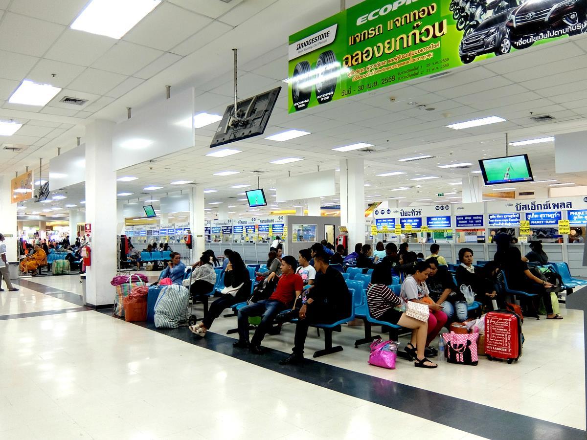 สถานีขนส่งกรุงเทพฯ (สายใต้ใหม่) - สายใต้ใหม่พื้นที่รอรถโดยสาร
