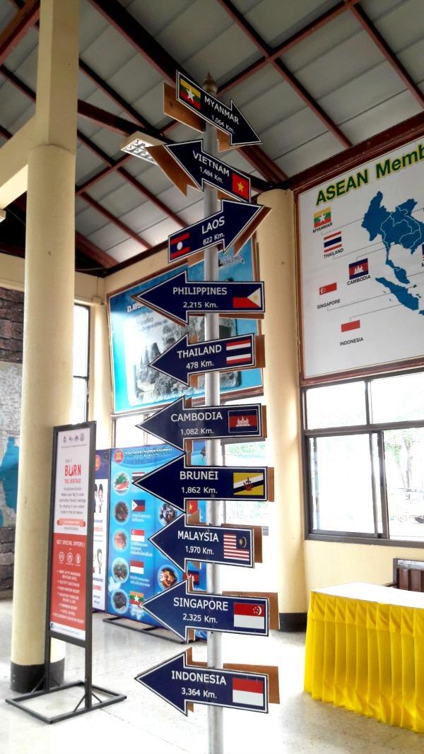 Sukhothai Bus Station - ASEAN Corner