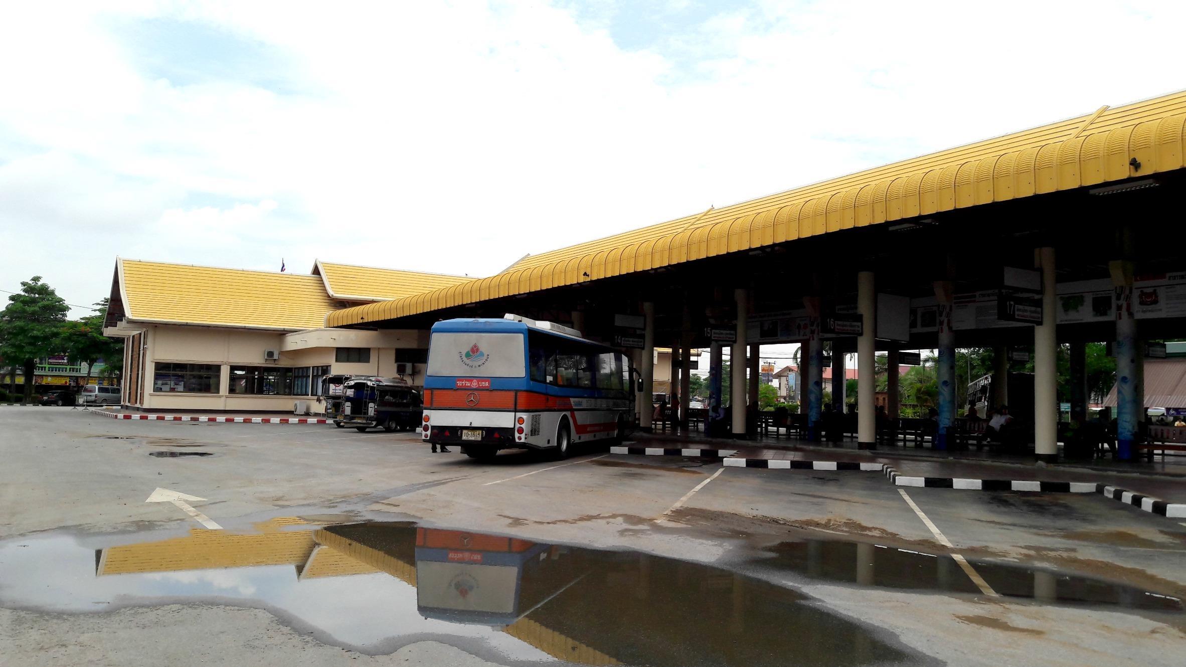 Sukhothai Bus Station - Bus platform 3