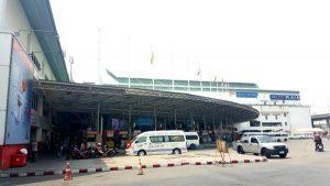 Southern Bangkok Bus Terminal (Sai Tai Mai) - Outside bus terminal