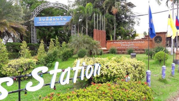 Sukhothai Bus Station - Sign 2