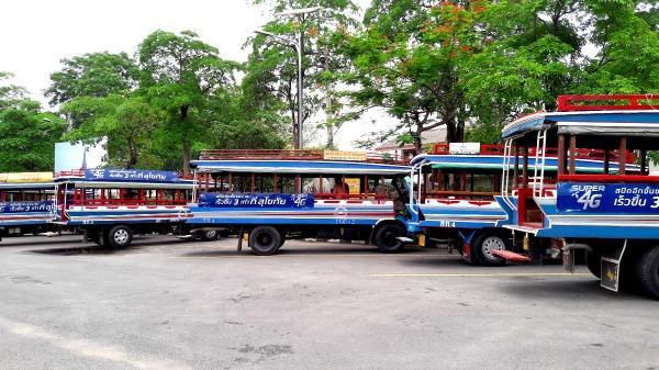 Sukhothai Bus Station - Songthaew area 3