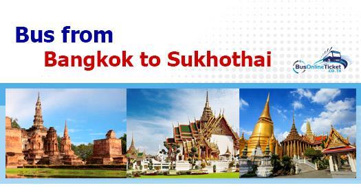 Bus from Bangkok to Sukhothai