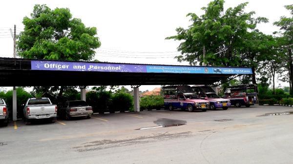 Sukhothai Bus Station - Tuk tuk area