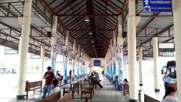 Sukhothai Bus Station - Waiting area