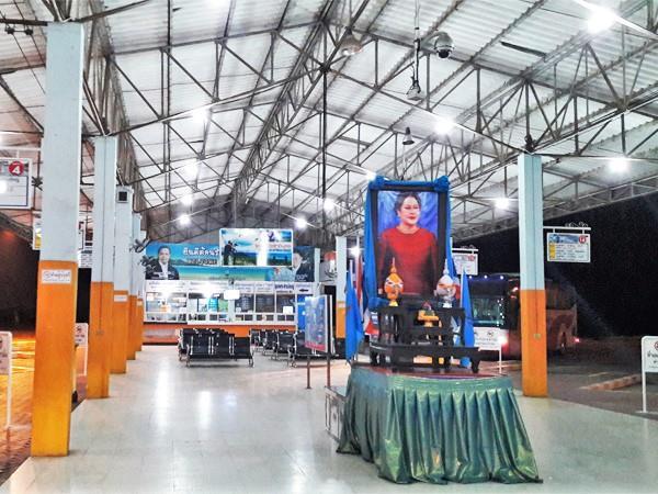 Chumphon Bus Terminal - Inside