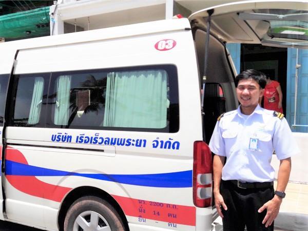 Lomprayah bus driver