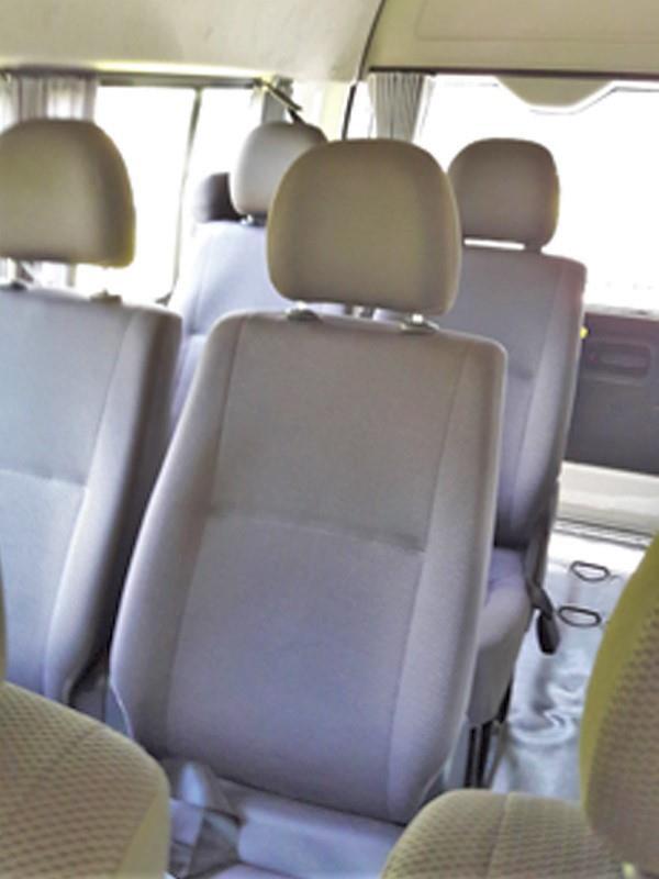 Lomprayah minivan interior