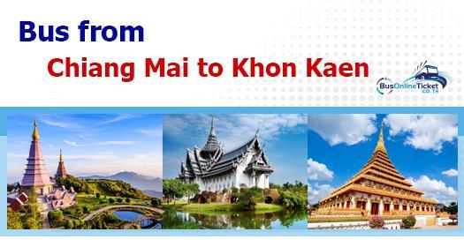 Bus from Chiang Mai to Khon Kaen
