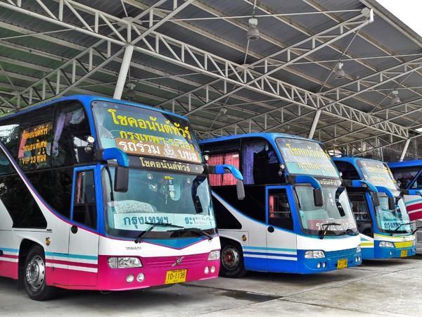 Choke Anan Tour buses