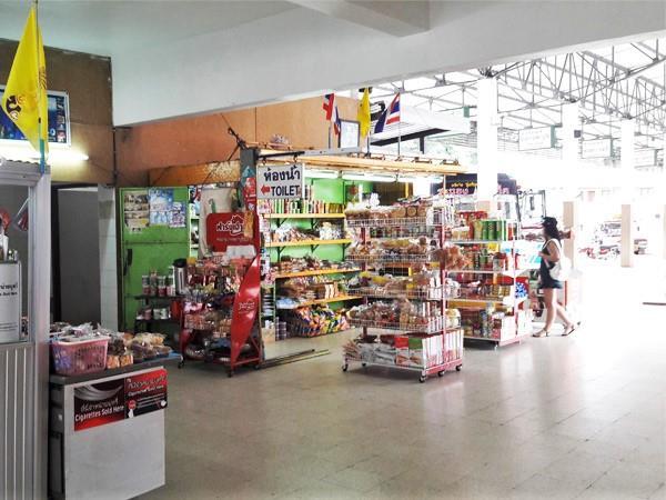 Minimart in Ranong Bus Terminal