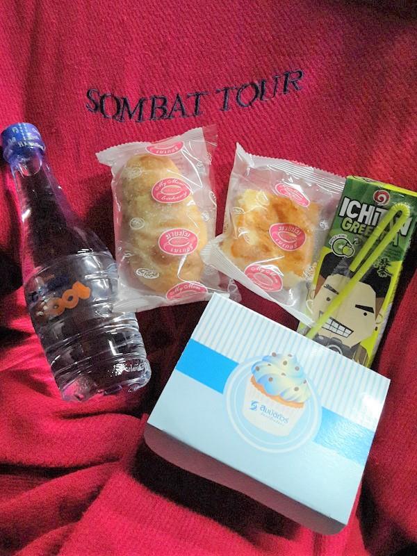 Snacks from Sombat Tour