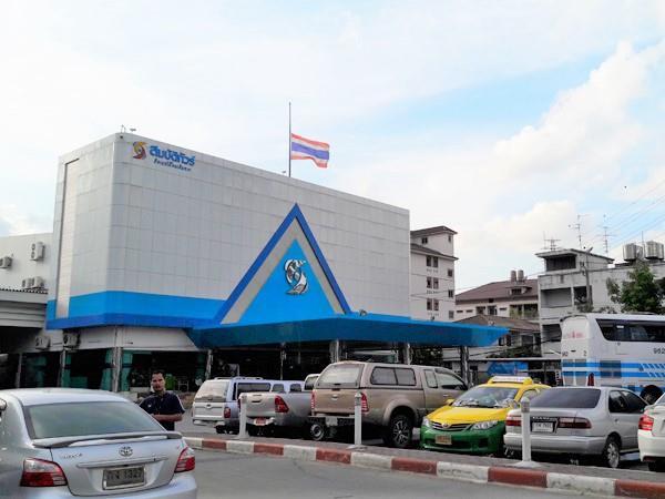 Sombat Tour Bus Station in Bangkok