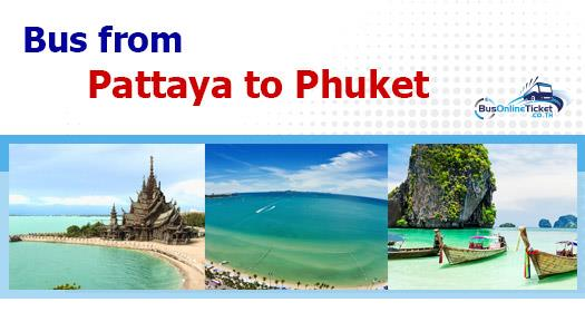 Bus from Pattaya to Phuket