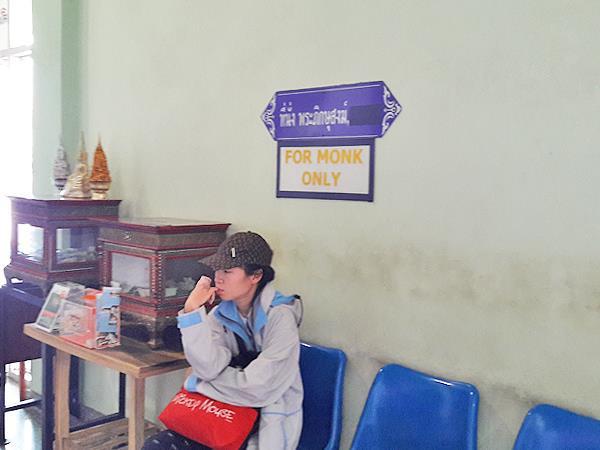 Monk seats