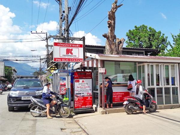 Pai Bus Station