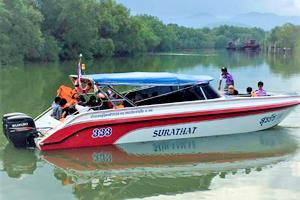 Surathat Speedboats Exterior View
