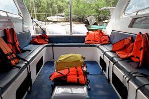Surathat Speedboats Interior View