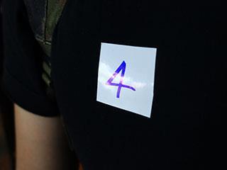 Passanger sticker