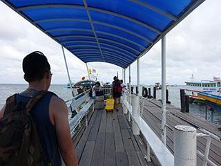 Pak Bara Pier Entrance