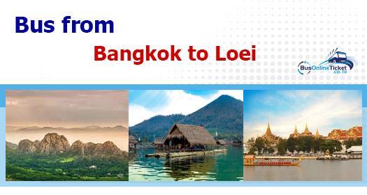 Bus from Bangkok to Loei