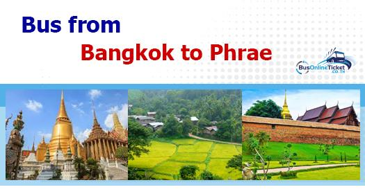 Bus from Bangkok to Phrae