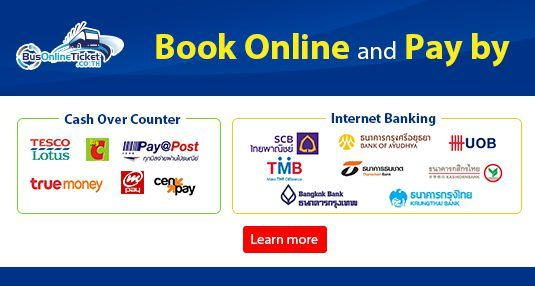 Book and Pay by 2C2P on BusOnlineTicket