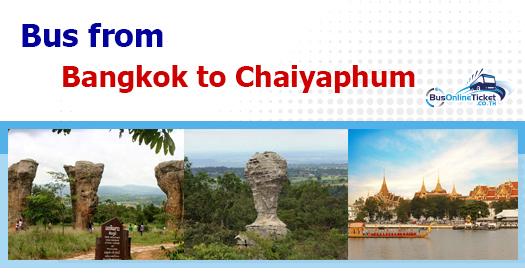 Bus from Bangkok to Chaiyaphum