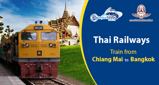 Train from Chiang Mai to Bangkok