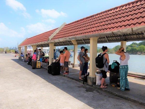 Rassada Pier Phuket Platform