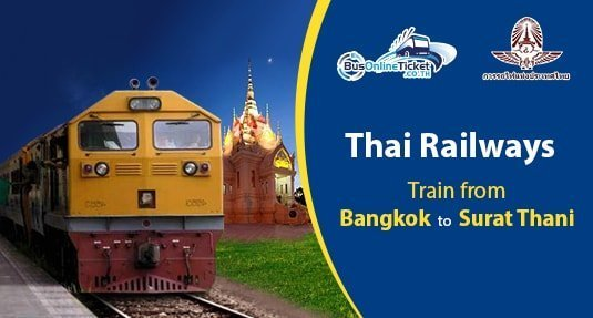 Train from Bangkok to Surat Thani