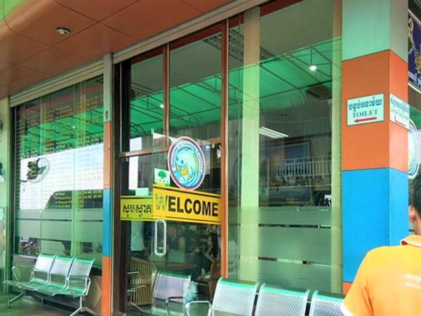 Mekong Express Office, Phnom Penh