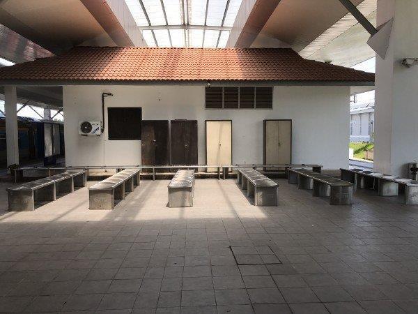 Padang Besar Malaysia Waiting Area