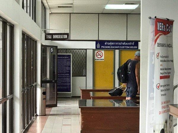 Padang Besar Thailand Immigration