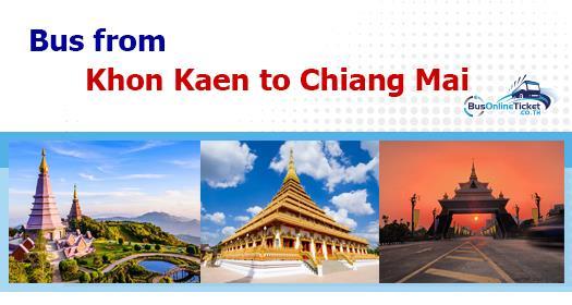 Bus from Khon Kaen to Chiang Mai