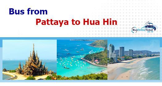 Bus from Pattaya to Hua Hin