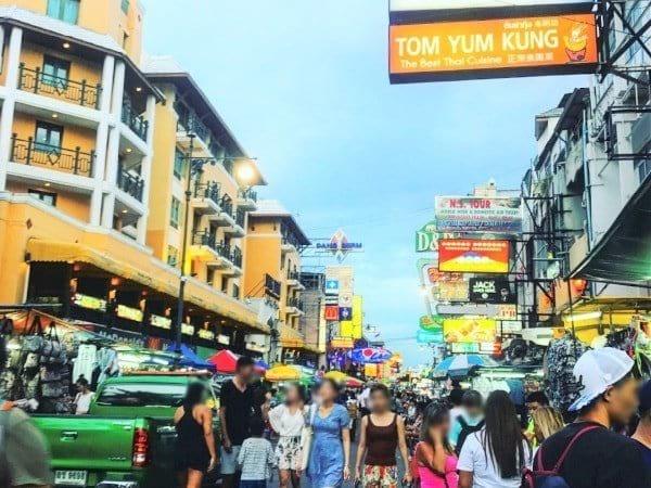 Khao San Night Market - Koh Chang to Bangkok Bus