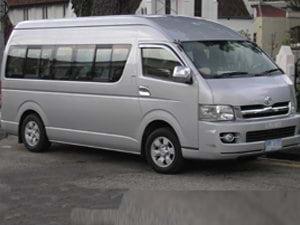 Archiperago Travel Service minivan