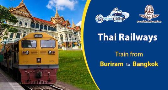 Buriram to Bangkok Train