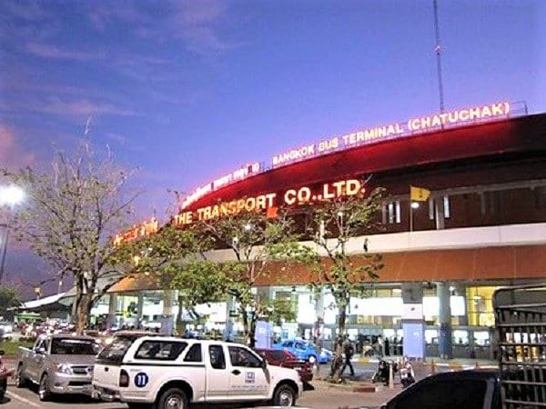 Mochit 2 Bus Terminal Chatuchak Bangkok