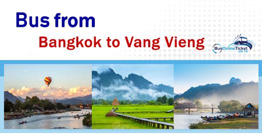 Bus from Bangkok to Vang Vieng